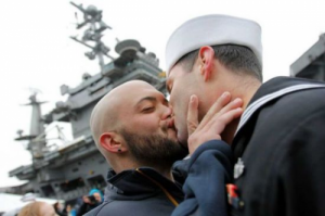 LGBT military couples